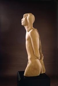Nimrod, sculpture by Yitzhak Danziger (Israeli, born Germany, 1916-1977)