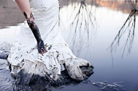 muddy bride