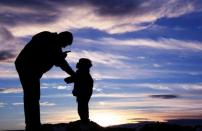 A loving father disciplines his children, that they may grow to be healthy, whole, productive people