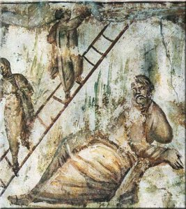 jacobs-ladder-Jacob's Ladder Via Latina Catecombs 4th Century