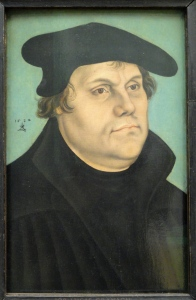 Martin Luther by Lucas Cranach the Elder - Statens Museum for Kunst