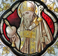 St. Augustine (stained glass)