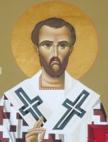 St. John Chrysostom as represented in the Chapel dedicated to him.
