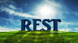 Come Rest Mat 11 28