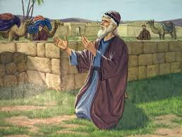 abraham's servant praying by well
