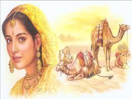 rebekah and camel