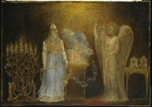 """The Angel Gabriel Appearing to Zacharias"" William Blake"