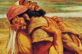 esau embracing jacob