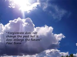 forgiveness does not change the past