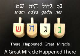 great miracle happened there