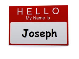 hello my name is joseph