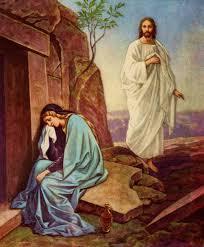 Jesus to mary