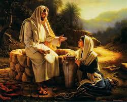 samaritan woman at well