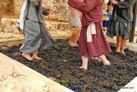 treading winepress